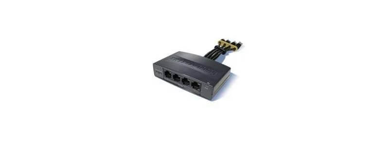 800-ILPM-4 4 Port 802.3af capable inline power module for 870 Routers