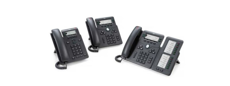 CP-6861-3PW-NA-K9 Cisco 6861 Phone with NA power adapter for MPP Systems