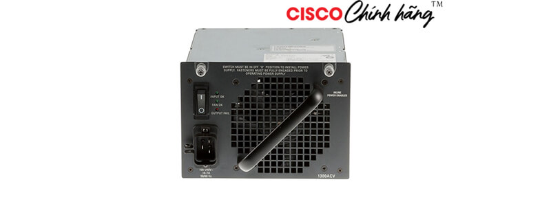 PWR-C45-1300ACV/2 Catalyst 4500 1300W AC Power Supply (Data and PoE)