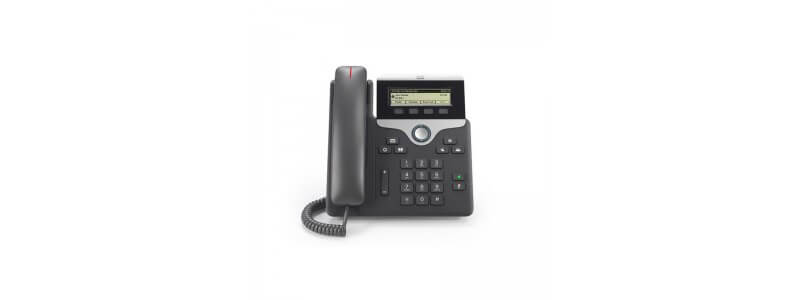 CP-7811-3PC-RC-K9 Cisco IP Phone 7811 with Multiplatform FW for RC Server